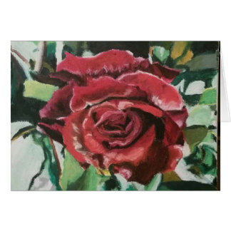"Greeting Cards ""Red France Rose"" by Amber Larsen"