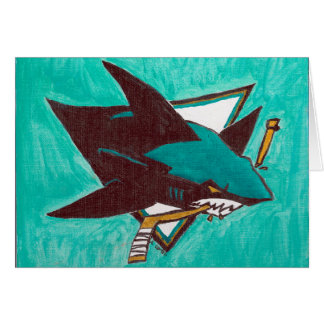 "Greeting Cards ""Uncle B's Sharks"" by Amber Larsen"