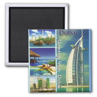Greeting from  Dubai Magnet by Moji Gbadamosi Okub