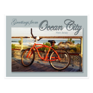 Greeting from Ocean City, NJ Postcard