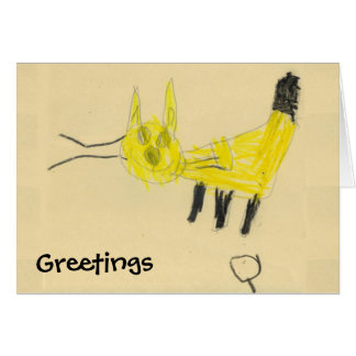 Greeting from Q-KAT Card