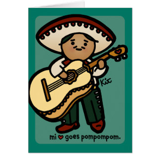 greeting gringo. card