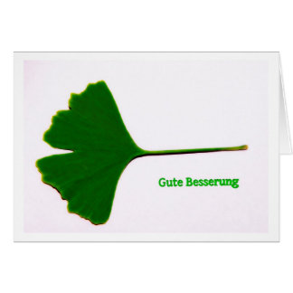 Greeting map property improvement ginkgo sheet card
