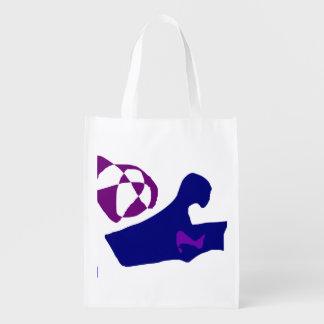 Greeting Reusable Grocery Bag
