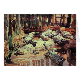 Greetingcard With John Singer Sargent Painting Card