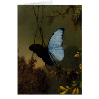 Greetingcard With Martin Johnson Heade Painting Card