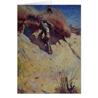 Greetingcard With Winslow Homer Painting Card