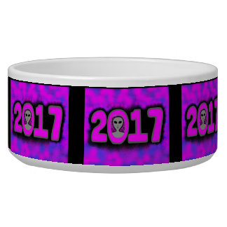 Greetings 2017 Large Pet Bowl
