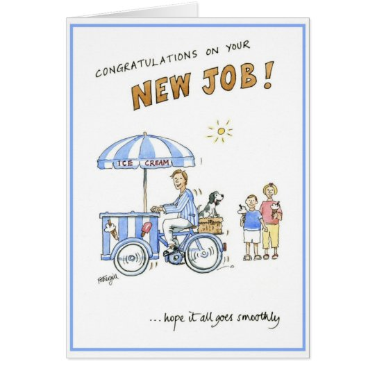 Greetings card congratulations on your new job zazzle greetings card congratulations on your new job m4hsunfo Choice Image