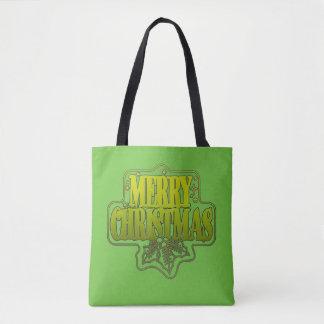 Greetings Christmas Tote Bag
