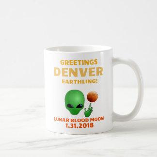 Greetings Denver Earthling Coffee Mug! Coffee Mug