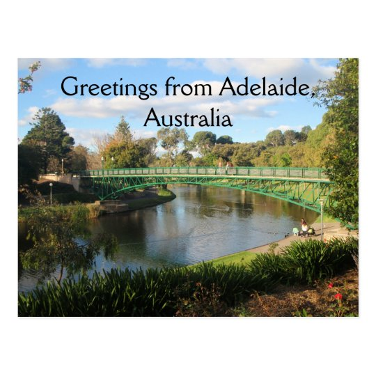 Greetings from Adelaide, Australia Postcard