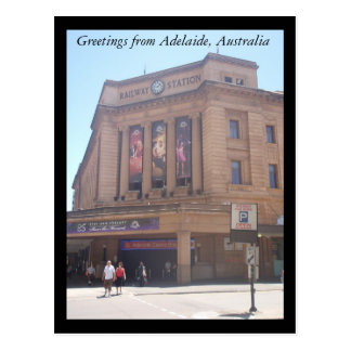 Greetings from Adelaide postcard