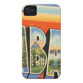 Greetings From Alabama Case-Mate iPhone 4 Case