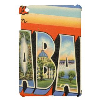 Greetings From Alabama iPad Mini Covers
