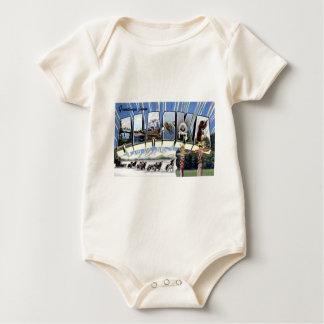 Greetings From Alaska Baby Bodysuit