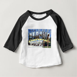 Greetings From Alaska Baby T-Shirt