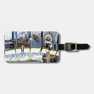 Greetings From Alaska Luggage Tag