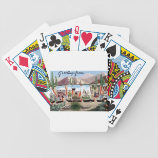 Greetings from Arizona Bicycle Playing Cards