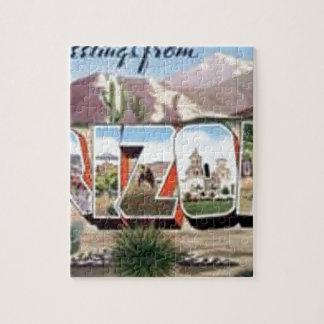 Greetings from Arizona Jigsaw Puzzle