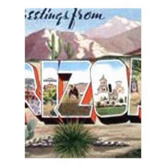 Greetings from Arizona Letterhead