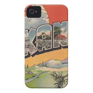 Greetings from Arkansas iPhone 4 Case