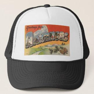 Greetings from Arkansas Trucker Hat