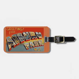 Greetings from Asbury Park Luggage Tag
