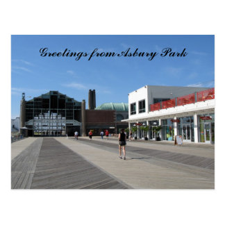 Greetings from Asbury Park, NJ Postcard