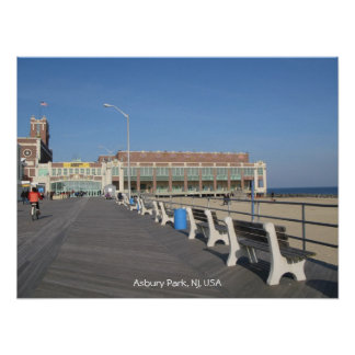Greetings from Asbury Park Poster