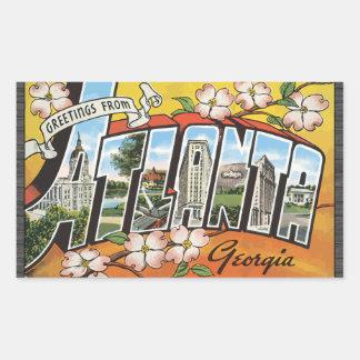 Greetings From Atlanta Georgia, Vintage