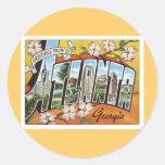 Greetings From Atlanta Sticker