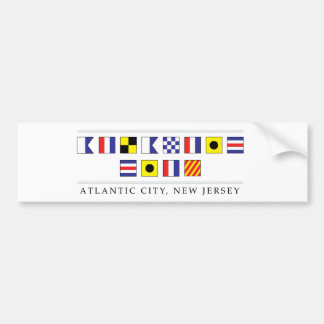 Greetings from Atlantic City Bumper Sticker