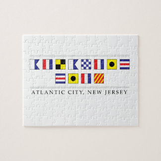 Greetings from Atlantic City Jigsaw Puzzle
