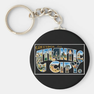 Greetings from Atlantic City! Keychain