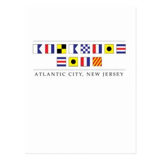 Greetings from Atlantic City Postcard