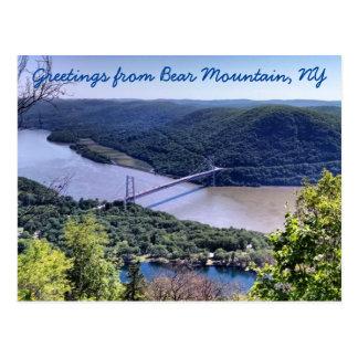 Greetings from Bear Mountain Postcard