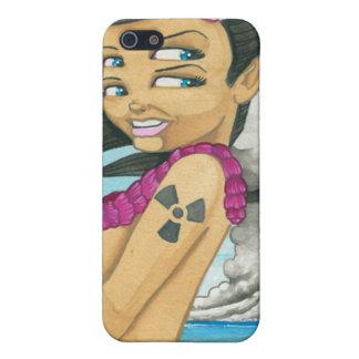 """Greetings from Bikini Atoll"" iPhone 5/5S Cover"