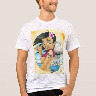 """Greetings from Bikini Atoll!"" T-Shirt"