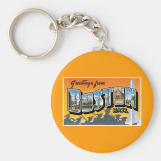 Greetings from Boston! Keychain