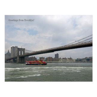 Greetings from Brooklyn, NY Postcard