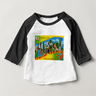 Greetings From California Baby T-Shirt