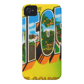 Greetings From California iPhone 4 Covers