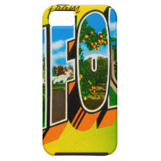 Greetings From California iPhone 5 Case