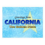 Greetings from California Post Card
