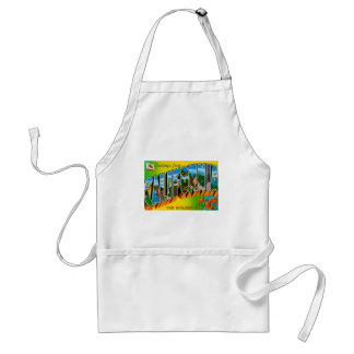 Greetings From California Standard Apron