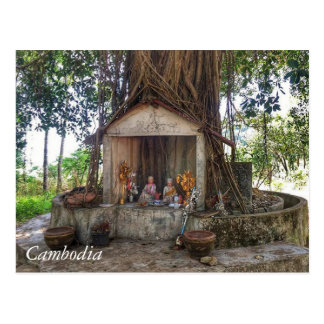 Greetings from Cambodia Postcard