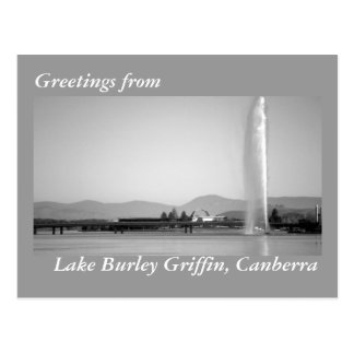 Greetings from Canberra postcard