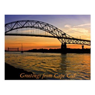 Greetings from Cape Cod Postcard