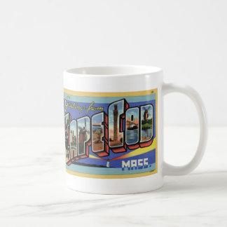 Greetings from Cape Cod Vintage Postcard Mug